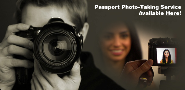 Passport Photo Taking and Studio Services